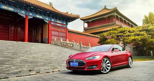 Производитель автомобилей Tesla выстроит завод наюге Китайской республики