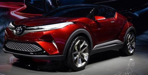 Тойота Way: Представлена китайская версия кроссовера C-HR
