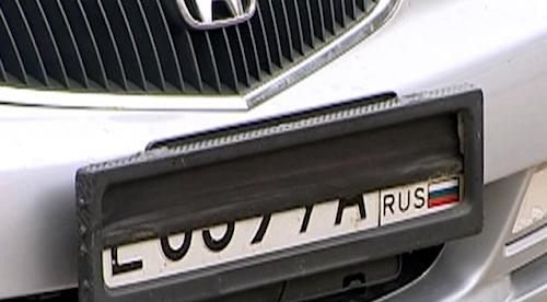 В РФ могут ввести штрафы занечитаемые номера