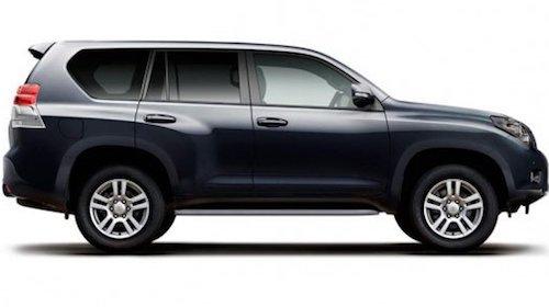 Обновленный Toyota Land Cruiser Prado появится нарынке виюле