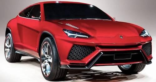 Жители России  заказали около 40 кроссоверов Lamborghini Urus