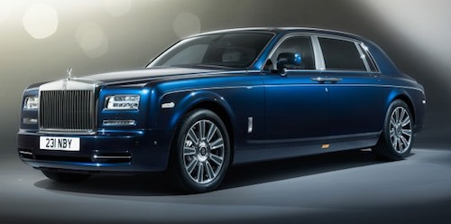 Rolls Royce Phantom Limelight Edition PLACEMENT