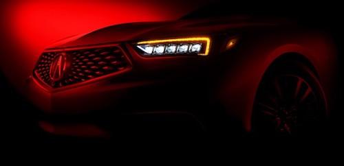 Новый Acura TLX с удлиненной базой представят в Шанхае