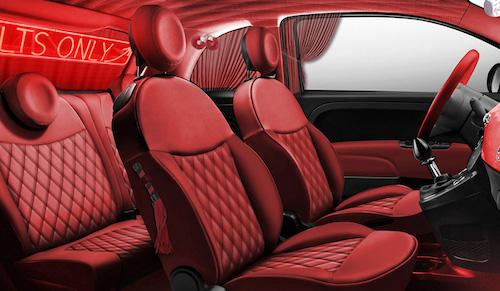 Кузов Фиат 500 покрыли иллюстрациями изКамасутры