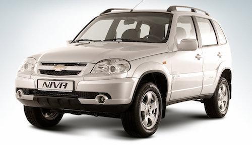 GM-Avtovaz объявил оновом предложении для потребителей  Шевроле  Niva