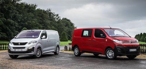 Peugeot и Citroen назвали цены на новые фургоны для РФ