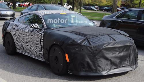 Всети интернет размещены первые фотографии неповторимого Форд Mustang