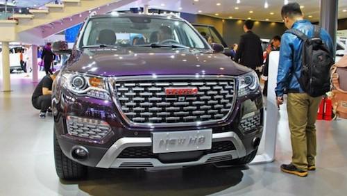 ВКитайской народной республике презентовали обновлённый флагманский вседорожный автомобиль Haval H8
