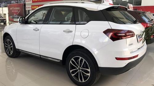В Китае стартовали продажи кроссовера Zotye T600 Coupe
