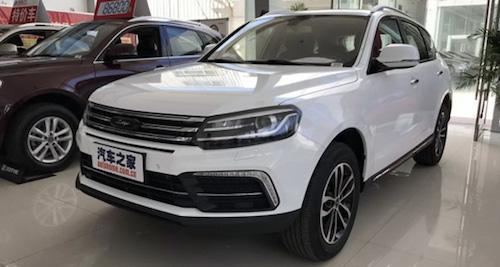 ВКитайской народной республике начались продажи Zotye T600 Coupe