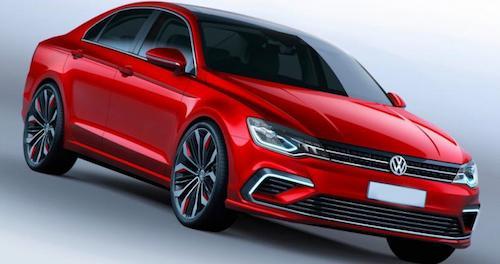 В Сети опубликованы первые фото нового седана Volkswagen Jetta