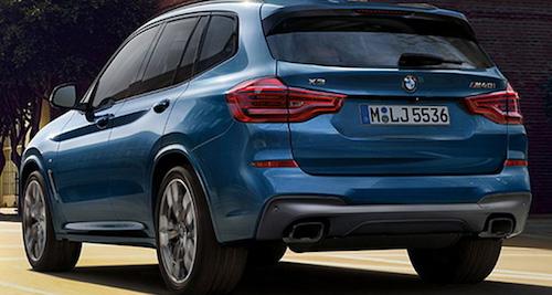 Новый кроссовер BMW X3 рассекречен за несколько часов допремьеры