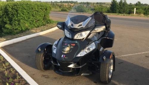 ВОмске реализуют трёхколесный мотоцикл за750 тыс. руб.