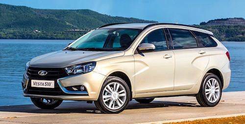 «АвтоВАЗ» продемонстрировал  дизайн свежей  модели Лада  VestaSW Cross