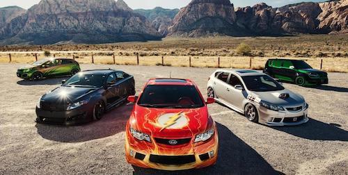 Составлен рейтинг наилучших супергеройских авто