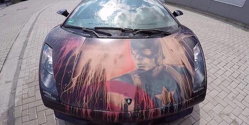 Назван ТОП наилучших авто супергероев