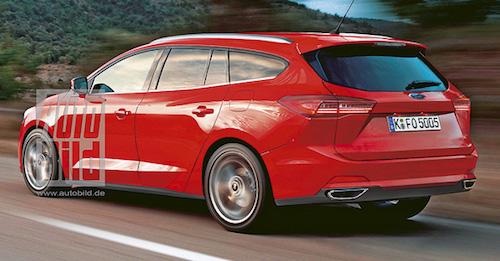Опубликованы изображения нового Ford Focus в трех кузовах