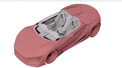 Honda запатентовала спорткар с прямоугольным рулем