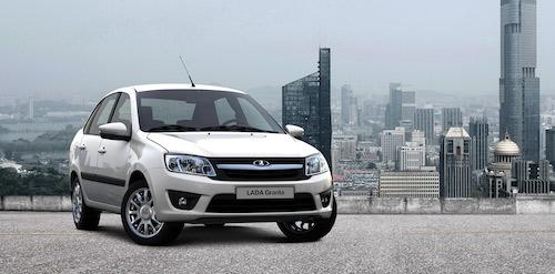 Лада Гранта стала самым продаваемым автомобилем в РФ в июне
