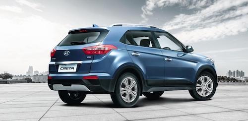 Hyundai Creta возглавил ТОП-5 самых популярных SUV России
