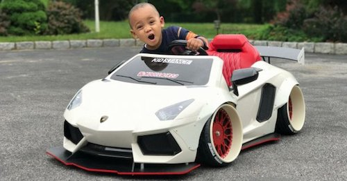 В США показали детский Porsche 911 за 5 тысяч долларов