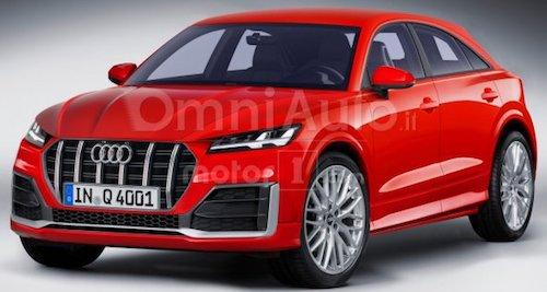 Опубликованы независимые рендеры нового кроссовера Audi Q4