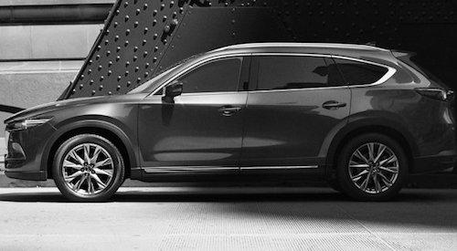 Mazda показала новый 7-местный кроссовер CX-8 на фото