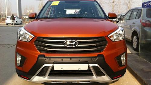"""Опубликованы """"живые"""" фото новой Hyundai Creta Sport"""