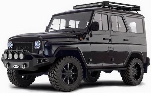 UAZ создаст новые версии джипов для экспорта