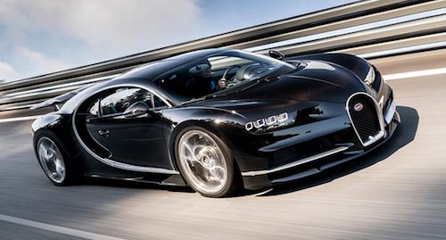 Названы реальные показатели расхода топлива Bugatti Chiron