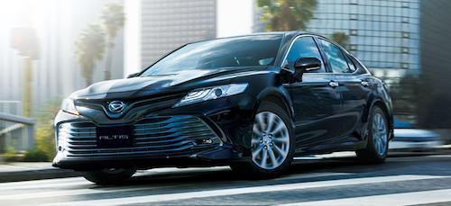 Toyota Camry 2018 переименовали в новое поколение Daihatsu Altis