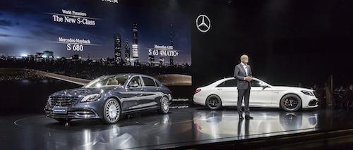 Обновленный Mercedes-Benz S-Class Купе и Кабриолет представят во Франкфурте