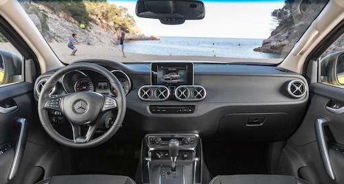 Новый пикап Mercedes-Benz X-Class представлен официально