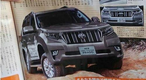 Стала известна дата старта продаж нового Land Cruiser Prado