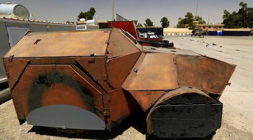 Боевики «ИГИЛ» создали автомобильный парк в стиле «Безумного Макса»