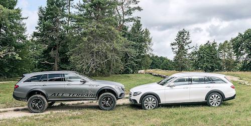 Mercedes показал внедорожный Е-Class, который «уделает» любой «Гелик»