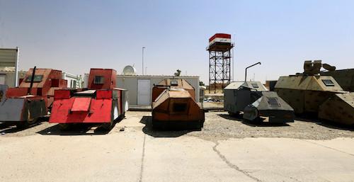 «ИГИЛ» создал автомобильный парк в стиле «Безумного Макса»