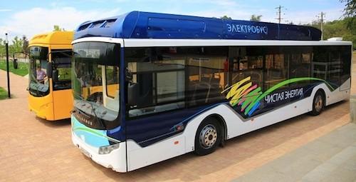 Представлен первый волгоградский электрический автобус