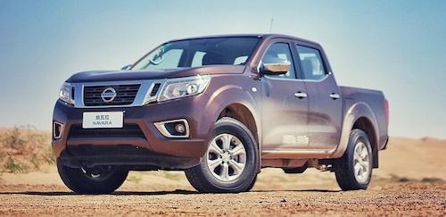 Новый Nissan Navara выходит на авторынок Китая