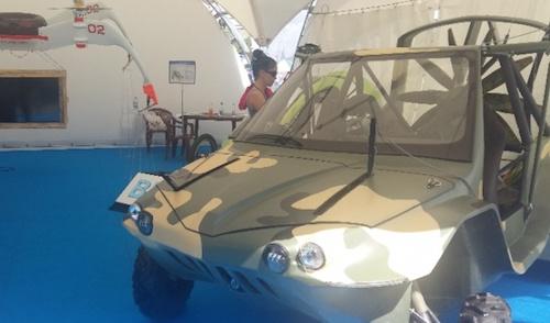 На МАКС-2017 представили российский летающий внедорожник