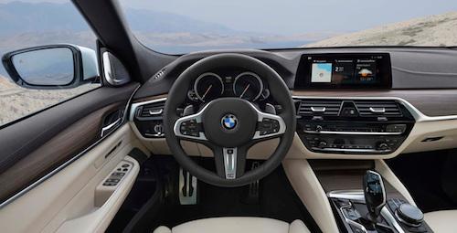 Компания BMW назвала цены на новый лифтбек 6-Series GT для РФ