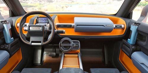Toyota показала концепт своего нового брутального внедорожника