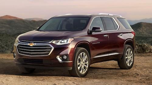 Внедорожник Chevrolet Traverse готовится к выходу в продажу в РФ