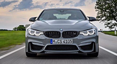 BMW анонсировала свой самый мощный седан M3 в истории
