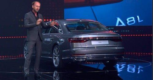 Audi представила седан A8 нового поколения