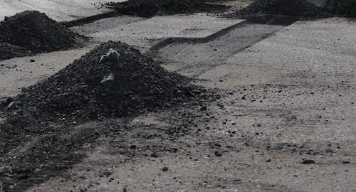 В Омске залатали ямы на 165 тысячах квадратных метрах дорог