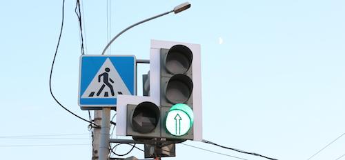 На Ленинградской площади изменится режим работы светофора