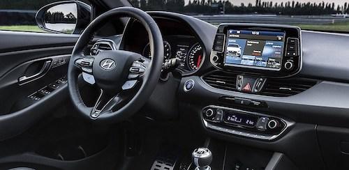 Hyundai представил «заряженный» хэтчбек i30 N
