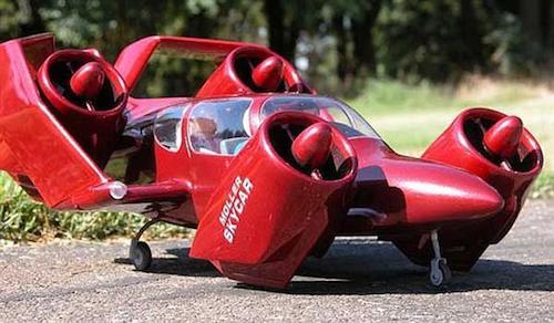 Летающий автомобиль 1960-х годов выставлен на реализацию