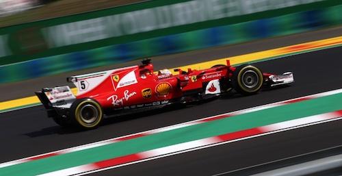 Формула-1. Себастьян Феттель берет поул в квалификации Гран При Венгрии 2017